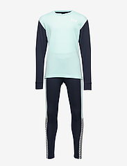 Helly Hansen - JR HH LIFA ACTIVE SET - undertøjssæt - blue tint - 0