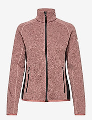 Helly Hansen - W VARDE FLEECE JACKET - mid layer jackets - ash rose - 0