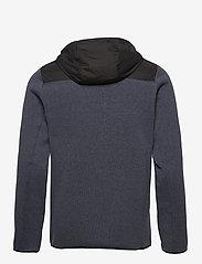 Helly Hansen - VARDE HOODED FLEECE JACKET - basic-sweatshirts - slate - 2
