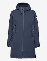 Helly Hansen - W MONO MATERIAL RAINCOAT - manteaux de pluie - navy - 1