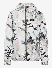 Helly Hansen - W BELFAST II PACKABLE JACKET - manteaux de pluie - cream esra print - 1
