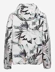 Helly Hansen - W BELFAST II PACKABLE JACKET - manteaux de pluie - cream esra print - 2