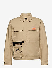 Helly Hansen - HERITAGE CARPENTER JACKET - overshirts - heritage khaki - 2
