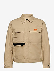 Helly Hansen - HERITAGE CARPENTER JACKET - overshirts - heritage khaki - 3