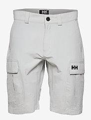 Helly Hansen - HH QD CARGO SHORTS 1 - wandel korte broek - grey fog - 0