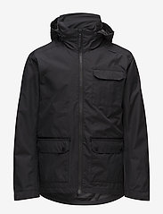Helly Hansen - HIGHLANDS JACKET - parki - 990 black - 2