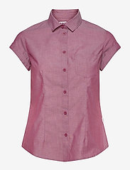 Helly Hansen - W HUK SS SHIRT - overhemden met korte mouwen - plum - 0