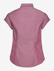 Helly Hansen - W HUK SS SHIRT - overhemden met korte mouwen - plum - 1