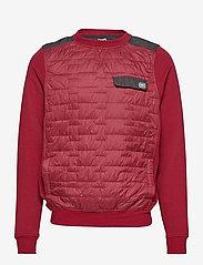 Helly Hansen - MOVATN WOOL INS SWEATER - basic-sweatshirts - oxblood - 0