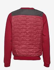 Helly Hansen - MOVATN WOOL INS SWEATER - basic-sweatshirts - oxblood - 1