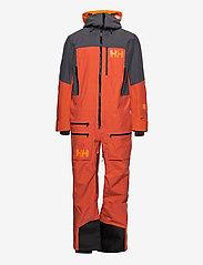 Helly Hansen - ULLR CHUGACH POWDER SUIT - ski jassen - patrol orange - 1