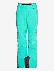 Helly Hansen - W SWITCH CARGO INSULATED PANT - skibroeken - turquoise - 0