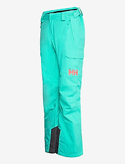 Helly Hansen - W SWITCH CARGO INSULATED PANT - skibroeken - turquoise - 2