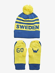 Helly Hansen - GOING FOR GOLD SET - mutsen - swedish flag blue - 1
