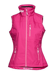 W CREW VEST - DRAGON FRUIT