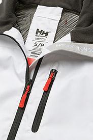 Helly Hansen - W CREW VEST - puffer vests - white - 3