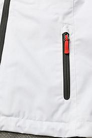 Helly Hansen - W CREW VEST - puffer vests - white - 4