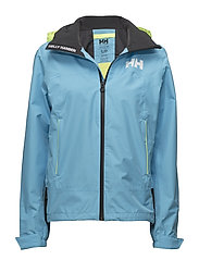 W HP FJORD JACKET - 518 AQUA BLUE