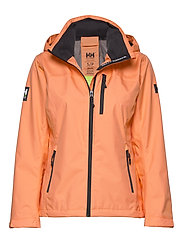 W CREW HOODED JACKET - MELON