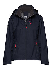 W CREW HOODED JACKET - 598 NAVY