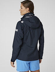Helly Hansen - W CREW HOODED JACKET - ulkoilu- & sadetakit - 598 navy - 7