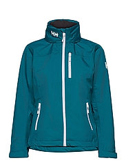 W CREW HOODED JACKET - TEAL