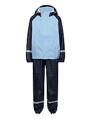 K BERGEN PU RAINSET - NAVY