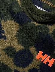 Helly Hansen - K DAYBREAKER HOODIE - fleecetøj - olive aop - 3
