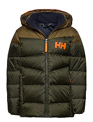 JR ISFJORD DOWN MIX JACKET - PINE GREEN