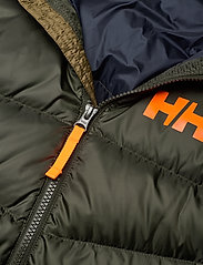 Helly Hansen - JR ISFJORD DOWN MIX JACKET - dunjackor & fodrade jackor - pine green - 4
