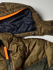 Helly Hansen - JR ISFJORD DOWN MIX JACKET - dunjackor & fodrade jackor - pine green - 7