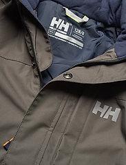 Helly Hansen - JR FELIX PARKA - parkas - beluga - 7