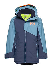 JR CASCADE JACKET - NORTH SEA BLUE