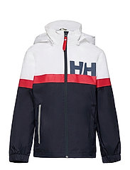 JR ACTIVE RAIN JACKET - NAVY