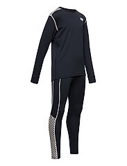 Helly Hansen - JR HH LIFA ACTIVE SET - undertøysett - 597 navy - 7
