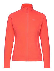 W DAYBREAKER FLEECE JACKET - HOT CORAL