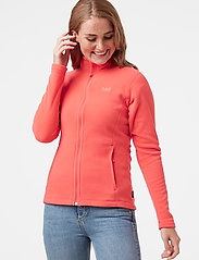 Helly Hansen - W DAYBREAKER FLEECE JACKET - fleece - hot coral - 0