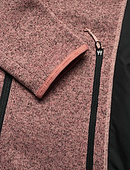 Helly Hansen - W VARDE FLEECE JACKET - mid layer jackets - ash rose - 3