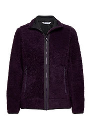 W SUNDOWN PILE JACKET - NIGHTSHADE