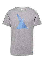 HP SHORE T-SHIRT - 951 GREY MELANGE