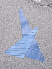 Helly Hansen - HP SHORE T-SHIRT - urheilutopit - 951 grey melange - 2