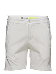 W CREW SHORTS - 001 WHITE