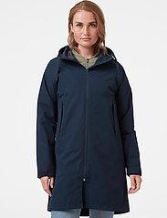Helly Hansen - W MONO MATERIAL RAINCOAT - manteaux de pluie - navy - 0