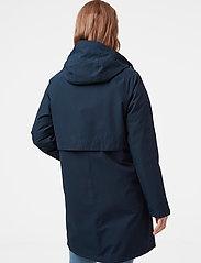 Helly Hansen - W MONO MATERIAL RAINCOAT - manteaux de pluie - navy - 3