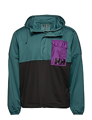 P&C ANORAK - WASHED TEAL