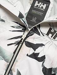 Helly Hansen - W BELFAST II PACKABLE JACKET - manteaux de pluie - cream esra print - 6
