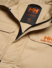 Helly Hansen - HERITAGE CARPENTER JACKET - overshirts - heritage khaki - 5