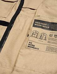 Helly Hansen - HERITAGE CARPENTER JACKET - overshirts - heritage khaki - 7