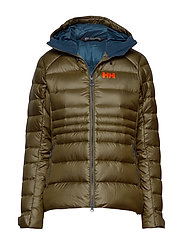 W VANIR ICEFALL DOWN JACKET - IVY GREEN
