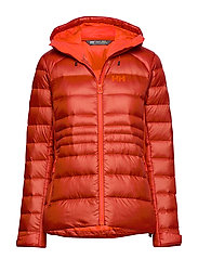 W VANIR ICEFALL DOWN JACKET - RED BRICK